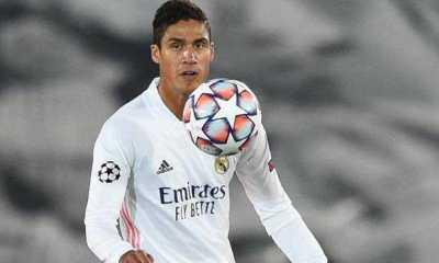 Jelang Laga Real Madrid vs Liverpool, Raphael Varane Malah Terinfeksi Covid-19