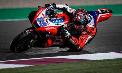 Pembalap Rookie Pramac Ducati Raih Pole Position di GP Doha