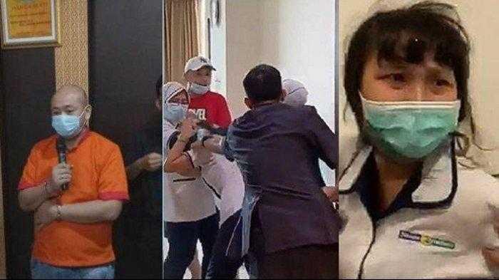 Ternyata Pelaku Penganiyata Perawat RS Siloan itu Bukan Polisi,Tapi Seorang Pengusaha