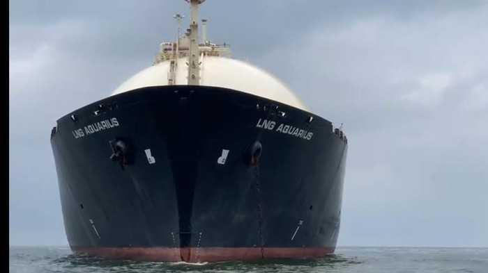 Kapal LNG Sitaan Kejagung dari Kasus Asabri Alami Kebocoran Pipa