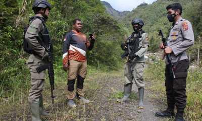 Warga Banti dan Opitawak Kembali Ke Desanya, Kapolsek Tembagapura: Tetap Waspada