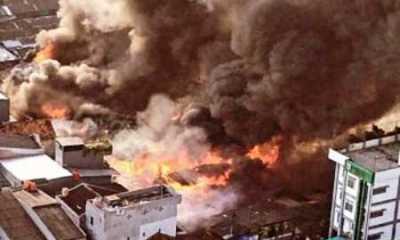 Kata Wali Kota Jakpus, Kebakaran Pasar Kambing Tanah Abang Diduga Karena Arus Pendek Listrik