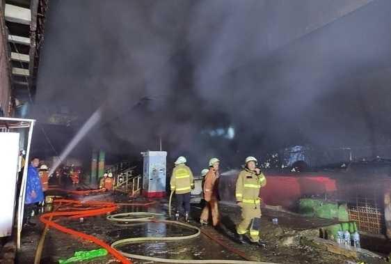Kata Damkar, Kebakaran Pasar Inpres Terjadi di Blok C
