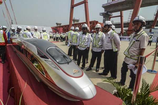 Menhub Sebut Kereta Cepat Jakarta-Bandung Suatu Lompatan kemajuan Indonesia
