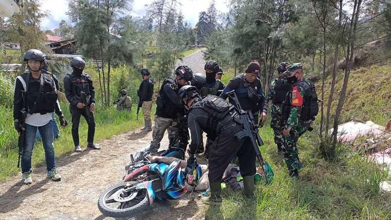 Kembali Berulah, kali Ini Tukang Ojek Tewas Ditembak KKB di Kampung Eromaga Kabupaten Puncak Papua
