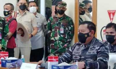 KASAL: Untuk Ketahui Nasib 53 Kru, TNI Upayakan Evakuasi KRI Nanggala 402