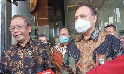 Sambangi KPK, Mahfud MD Minta Dokumen BLBI