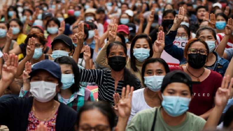 Junta Militer Umumkan Hukum Mati 19 Warga Demonstran atas Tuduhan Pembunuhan Teman Tentara