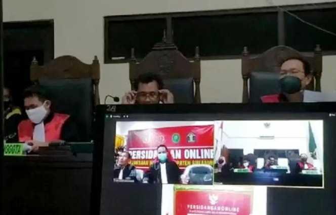 Empat WNA Asal Timur Tengah di Vonis PN Cibadak Sukabumi Hukuman Mati