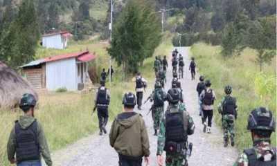Geger ! OPM Targetkan Bunuh 19 Orang di Ilaga Papua, Pasukan TNI/Polri Siaga Patroli Kota