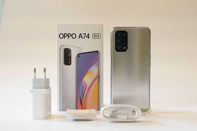 Oppo A74 5G Resmi Dijual Ekskusif di Shopee