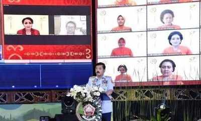 Di HUT Ke 57, Panglima TNI Ajak Dharma Pertiwi Wujudkan Keluarga Tangguh dan Inovatif