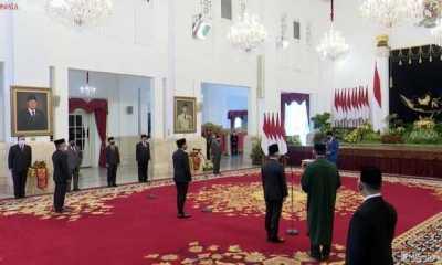 Jokowi Juga Lantik Laksana Tri Handoko Jadi Kepala BRIN