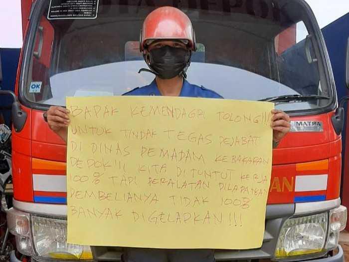 Walikota Depok Disebut Sebut Terlibat Korupsi Pengadaan Damkar