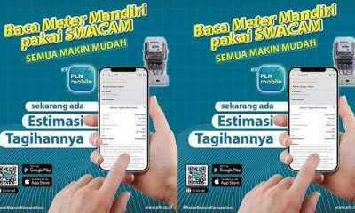 Perhatian, Pelanggan PLN Sekarang Bisa Cek Tagihan Lewat Aplikasi SwaCAM