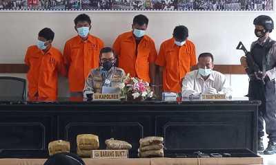 Polisi Ungkap Peredaran Narkoba di Lapas Kelas IIA Bukittinggi, Salah Satu Pelakunya Petugas Lapas