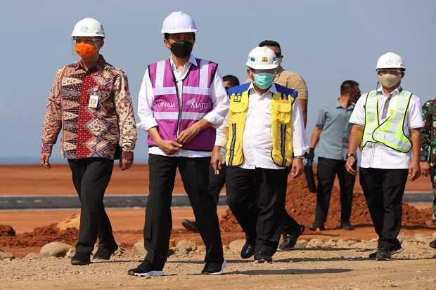 Saat Tinjau Kawasan Industri Batang, Jokowi : Ini Akan Contoh Untuk Industri Lain