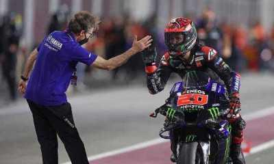 Diwarnai Banyak Pembalap yang Jatuh, Fabio Quartararo Juarai MotoGP Portugal