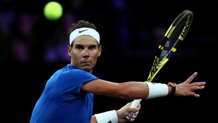 Italian Open: Makan Waktu 3,5 Jam, Nadal Tundukkan Shapovalov