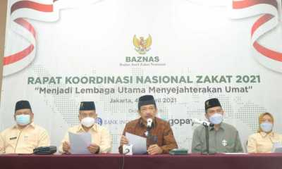 BAZNAS Minta Jokowi Buat Perpres Wajib Zakat untuk ASN dan TNI-Polri