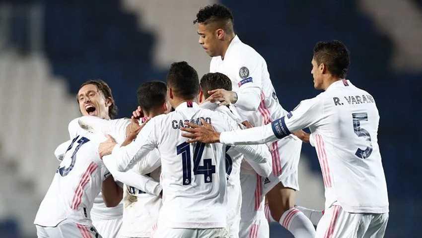 Menang 2-0 atas Eibar, Real Madrid Peringkat Kedua Klasemen Liga Spanyol