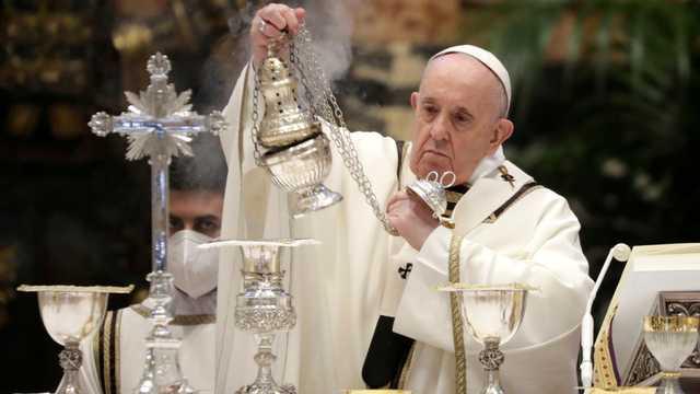 Peringati Hari Paskah, Paus Fransiskus: Pastor Harus Selalu Rendah Hati