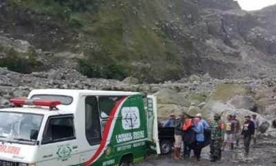 Lokasi Penambangan Galian C di Sungai Bebeng Longsor, Tiga Korban Tewas