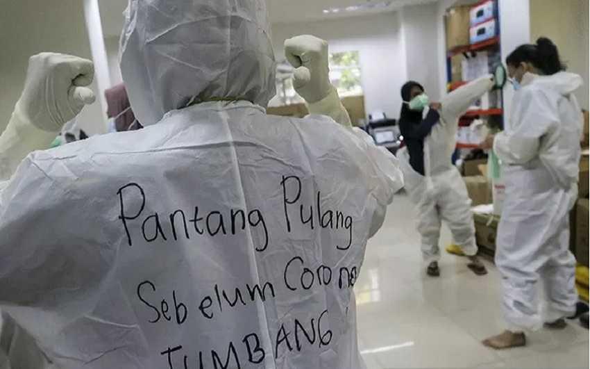 Inilah Besaran Insentif Tenaga Kesehatan Penanganan Pandemi COVID-19