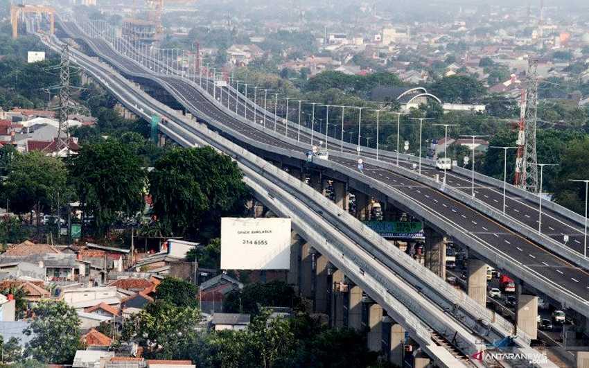 Pagi Ini Ditutup Sementara, Tol Layang Jakarta-Cikampek Ganti Nama