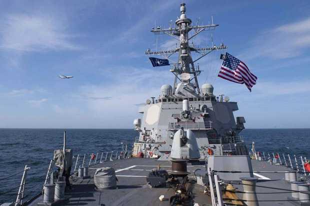Rusia Peringati Amerika Agar Kapal Menarik Kapal Perangnya Dari Crimea Demi Kemanan Tentaranya
