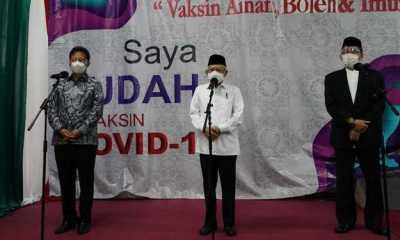 Wapres Ma'ruf Amin Minta Dokter Terus Bangun Kesadaran Masyarakat Untuk Vaksinasi