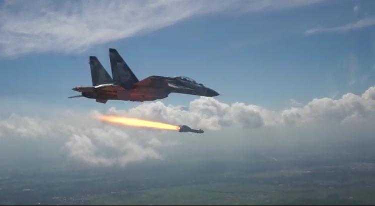 TNI AU Berhasil Lakukan Ujicoba Tembak Rudal KH-29TE