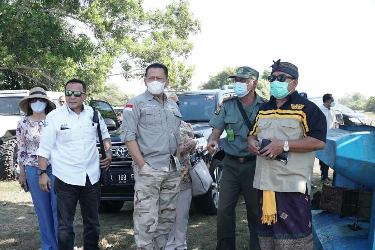 Bamsoet Tinjau Kembali Lahan Pembangunan Sirkuit F1 di Jembrana Bali