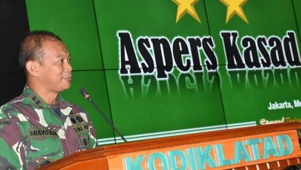 Mayjen-TNI Mulyo Aji Resmi Menjabat Pangdam Jaya Gatikan Mayjen TNI Dudung Abdurachman