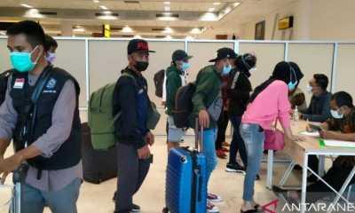 219 Pekerja Migran dari Malaysia Telah Tiba di NTB
