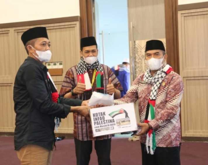 Bupati Loteng Terbitkan Surat Edaran Ajakan Berdonasi Untuk Palestina