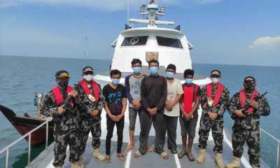 Ditangkap Aparat Malaysia, Lima Nelayan Indonesia Dibebaskan KKP