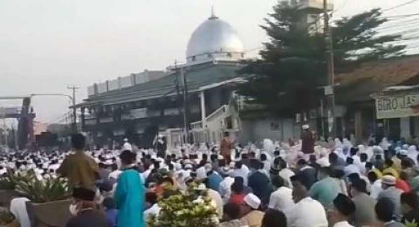 Ini Tanggapan Pemkot Bekasi Soal Foto Viral Jamaah Shalat Idul Fitri di Masjid Annur Kranji