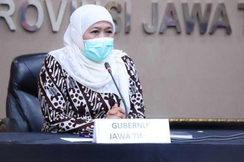 Soal Kerumunan Tasyakuran Ulang Tahunnya, Gubernur Khofifah Minta Maaf