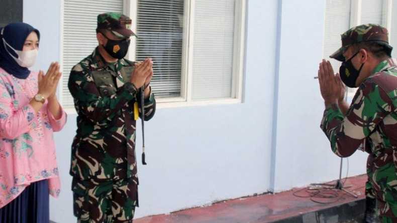 Hadapi Situasi Pandemi Covid-19, Danlanud Sam Ratulangi Minta Prajurit Tetap Bersyukur
