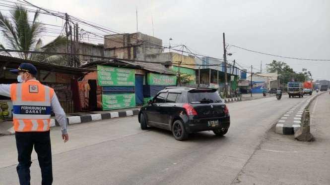4 Hari Berjalan, Polda Metro Putar Balik 24.477 Kendaraan di Bekasi yang Ingin Mudik