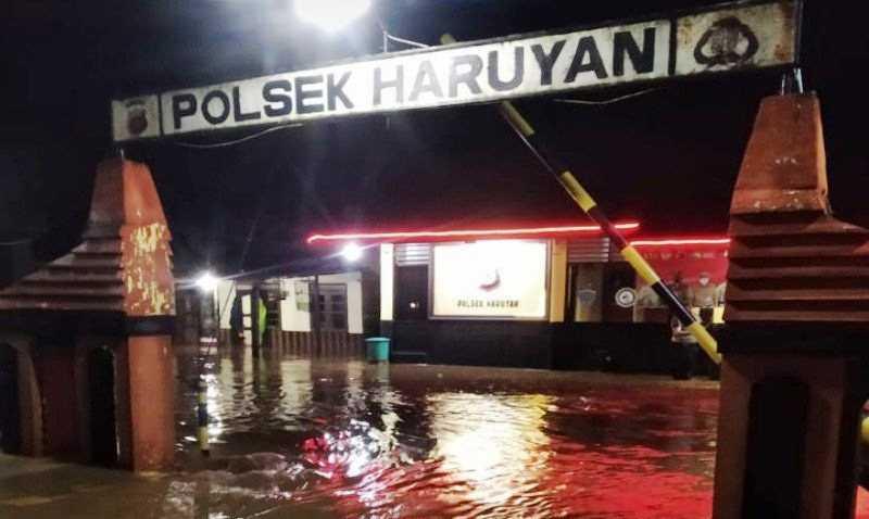 Banjir di Haruyan HST Sudah Surut, Sore Ini Sejumlah Ruas Jalan Telah Bisa Dilalui