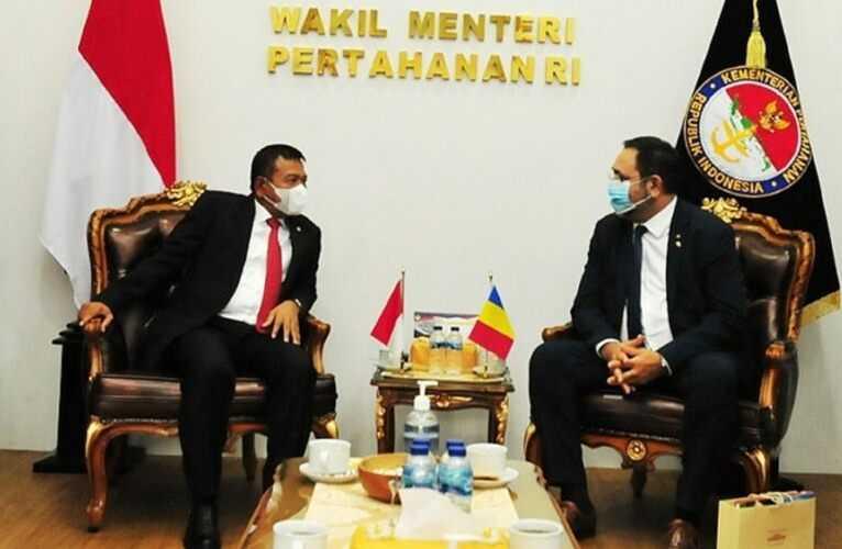Indonesia dan Rumania Sepakat Tingkatkan Kerja Sama Bidang Industri Pertahanan