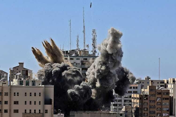 Ini Dalih Israel Serang Gedung Kantor AP dan Al Jazeera