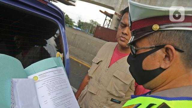 Inilah Pos-pos Pemeriksaan Surat Bebas Covid-19 untuk Masuk Jakarta