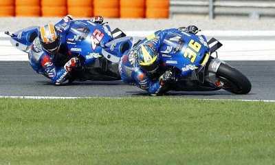 Duet Suzuki Ecstar Hadapi Jalan Terjal di GP Prancis Hari Ini