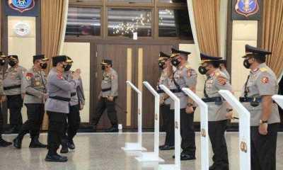 Kapolri Naikan Pangkat 6 Perwira Tinggi Polri