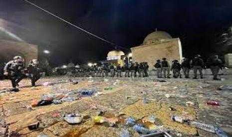 AWG Kecam Kekerasan terhadap Warga Palestina di Kompleks Masjid Al Aqsa