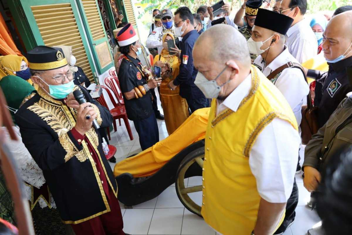 Kunjungi Kesultanan Bulungan, LaNyalla: Kerajaan Nusantara Pondasi NKRI