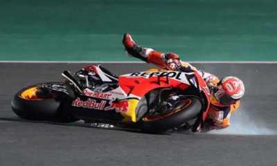Marquez Terjatuh Lagi di Jerez, Nakagami Duduki Posisi Puncak di Seri FP3